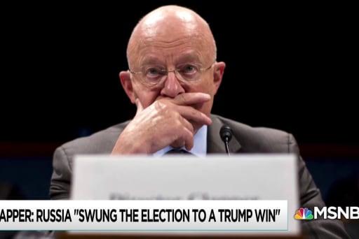 Clapper Russia assessment calls Trump legitimacy into question