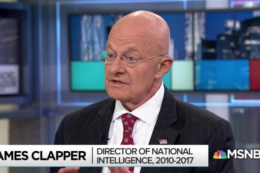 Clapper: Russia eminently successful in the election of 2016