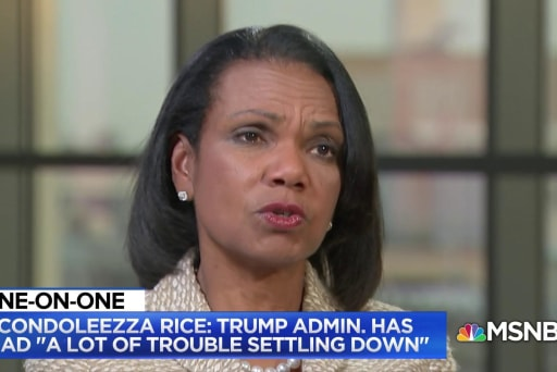 Rice: I'd keep 'expectations low and over-deliver' on N. Korea talks