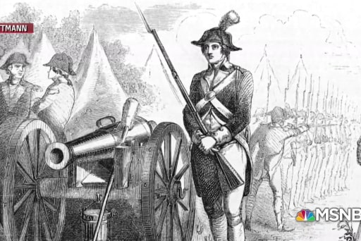 Revolutionary War hero Deborah Samson is a Monumental American