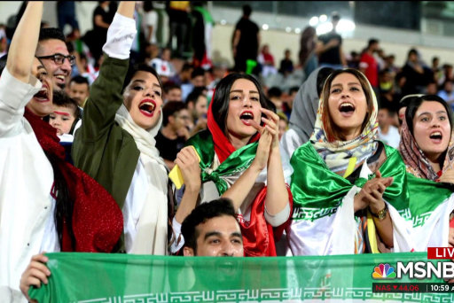 #BIGPICTURE: Iranian women watch World Cup for first time in 40 years