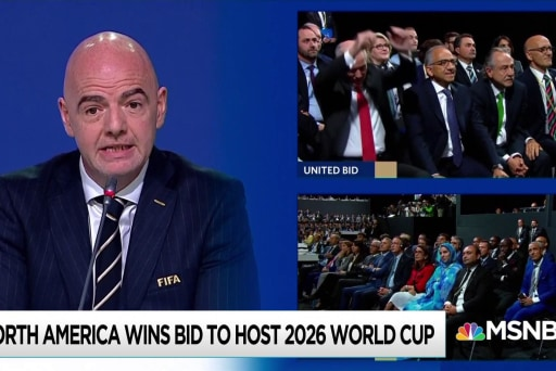 World Cup announcement comes at awkward time for U.S. under Trump