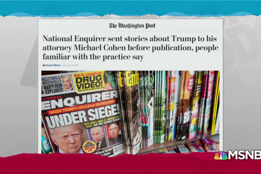 National Enquirer consulted Cohen, Trump on 2016 stories: WaPo