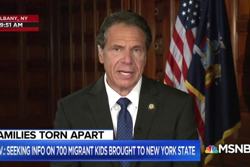 Gov. Cuomo: 'HHS won't tell us' location of migrant children