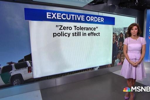 "Executive Disorder: President Trump's zero-tolerance policy ""fix"""