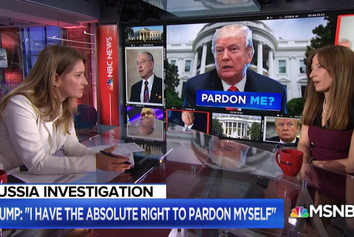 The President says he can pardon himself. But can he?