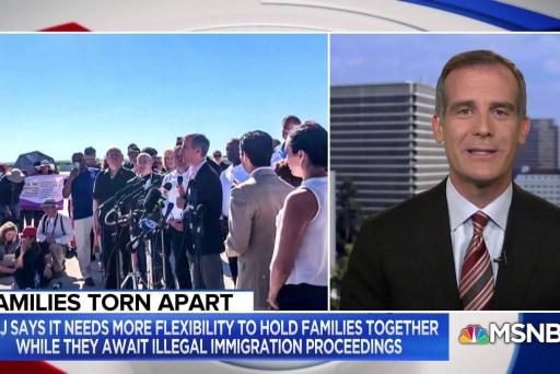 LA Mayor Eric Garcetti: We demand leadership on immigration