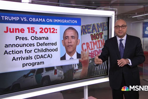 Comparing Trump's immigration policy to Obama's
