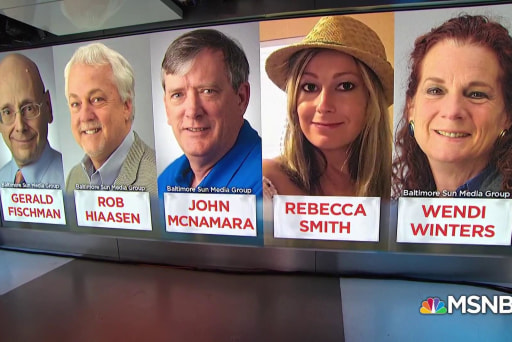 Remembering the 5 journalists killed at the Capital Gazette