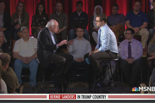 Bernie Sanders in Trump Country