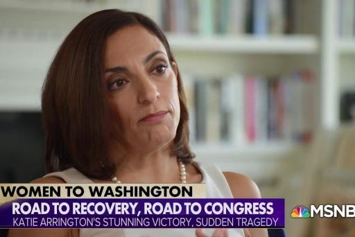 Katie Arrington back on campaign trail after tragic car accident