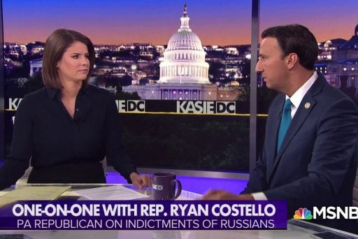 Rep. Costello: Republicans play to an audience of one during Strzok hearing