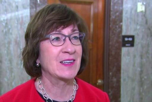 Sen. Collins on Supreme Court nominee Brett Kavanaugh