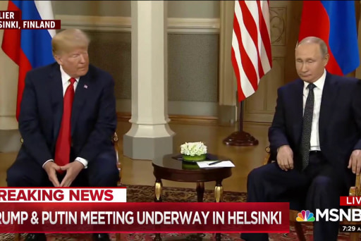 Russia goes into Helsinki meeting with confidence