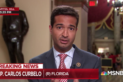 "GOP Rep. Curbelo: The damage that was done yesterday ""is irreparable"""