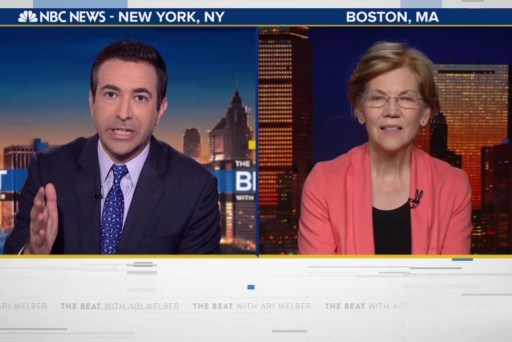 Ari Melber's full interview with Senator Elizabeth Warren