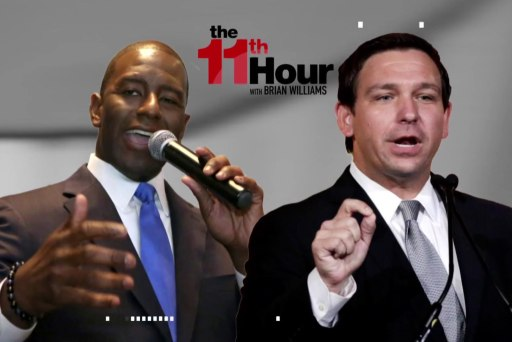 Andrew Gillum: 'Monkey' remark by Ron DeSantis was 'embarrassing'