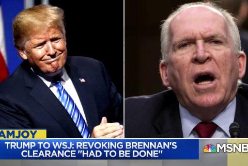 Nada Bakos: Trump is applying political litmus test to security clearances