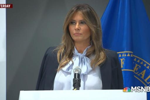 Melania Trump fights cyberbullying