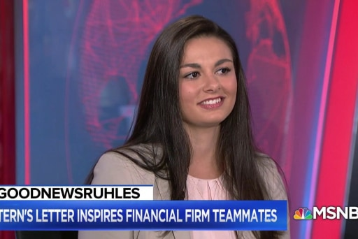 #GoodNewsRUHLES: Intern proves hard work and tenacity pays off