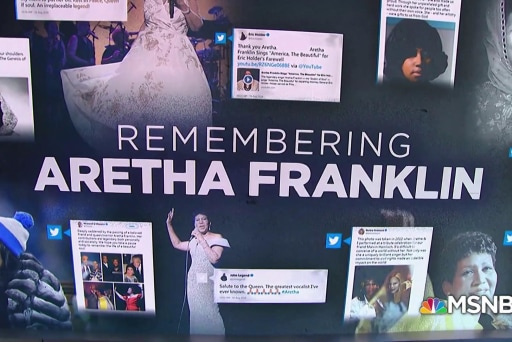 Remembering Aretha Franklin: Global and 'beyond royalty'