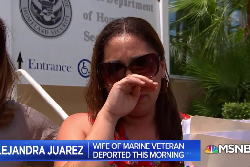Wife of decorated Iraq Marine veteran deported