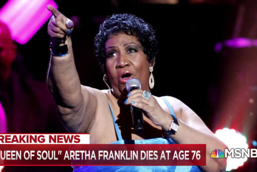 Looking back on some of Aretha Franklin's most iconic performances