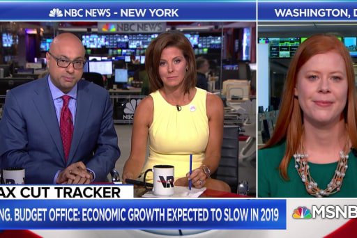 New projections of an economic slowdown for the U.S