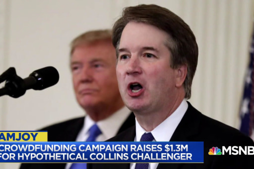 Sen. Collins faces massive opposition if she votes to confirm Kavanaugh