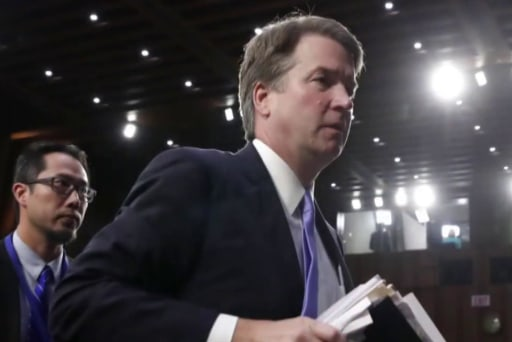 GOP plays chicken with Kavanaugh nomination