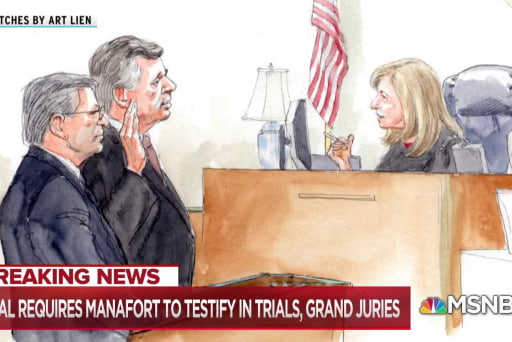 Mueller secures full cooperation, guilty plea from Manafort