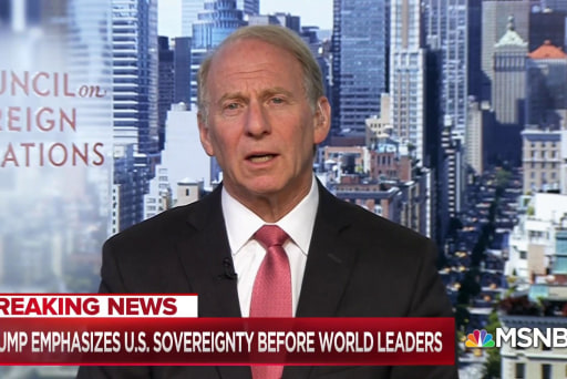 Richard Haass: President moving towards 'extreme nationalism' with UN speech