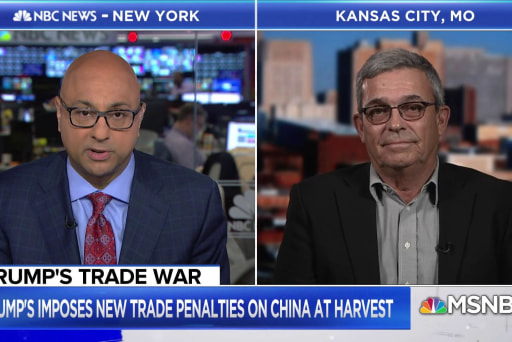 The impact of Trump's trade war on American farmers