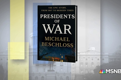 Michael Beschloss joins Joy Reid on his new book, 'Presidents of War'
