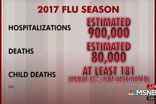 2017 was deadliest flu season in four decades