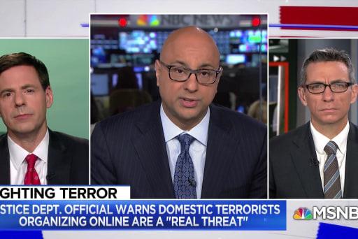 Trump admin may change strategy on domestic terrorism