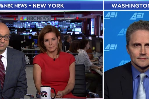 President Trump calls the Fed raising rates his 'biggest threat'