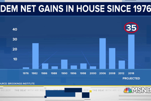 Ari: Dems. crushed Trump in biggest midterm blowout in 40 years