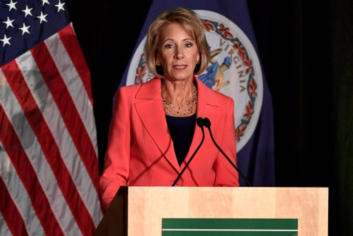 Unique security detail for DeVos to cost tax payers millions