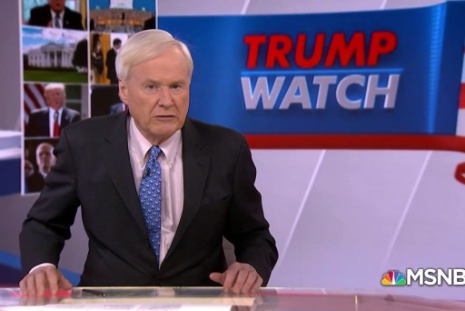 Matthews: Trump is restless and worried about Mueller