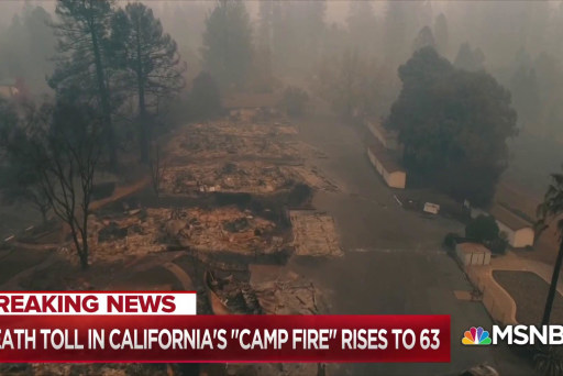 Nightmare worsens as California fires missing persons list grows