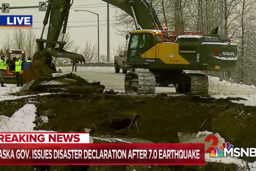 Massive earthquake leaves Alaska infrastructure in shambles
