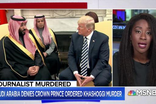 WAPO editor: Trump willing to help Saudis get away with murder