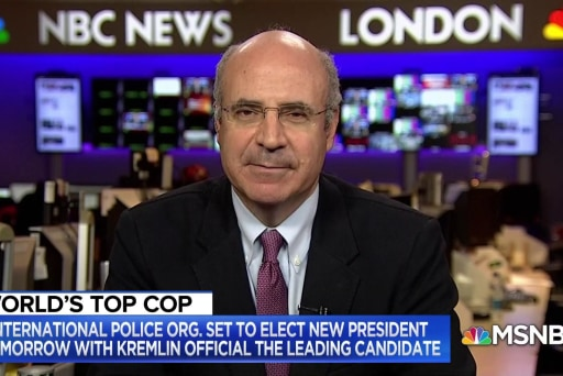 Bill Browder: It's 'scary' that Russia could be in charge of Interpol