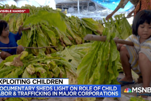 Invisible Hands: Child labor in the U.S. & around the world
