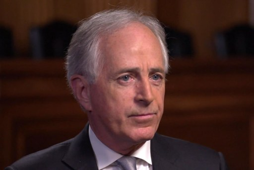 Sen. Corker won't rule out voting for a Democrat in 2020