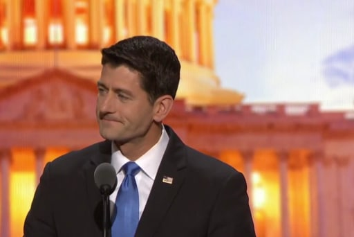 Watch Paul Ryan own himself for growing the deficit