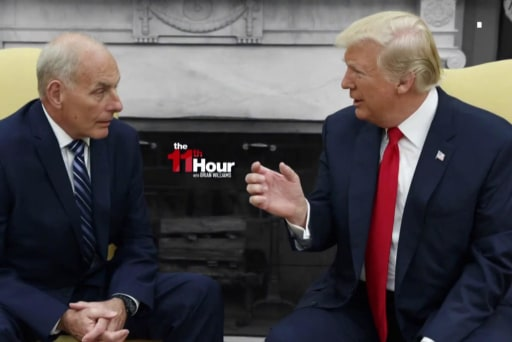 Trump scrambles to find his next Chief of Staff