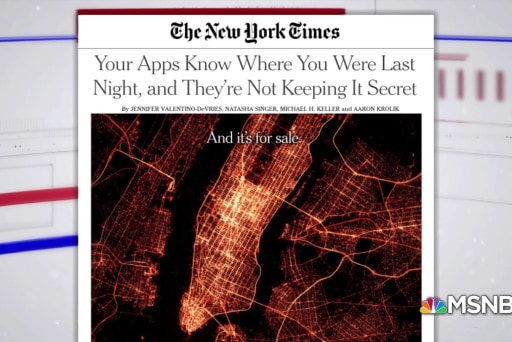 NYT: Smart phone apps are tracking your every move, selling the data