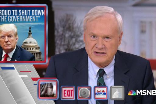 Trump attempts to shift shutdown blame to Democrats